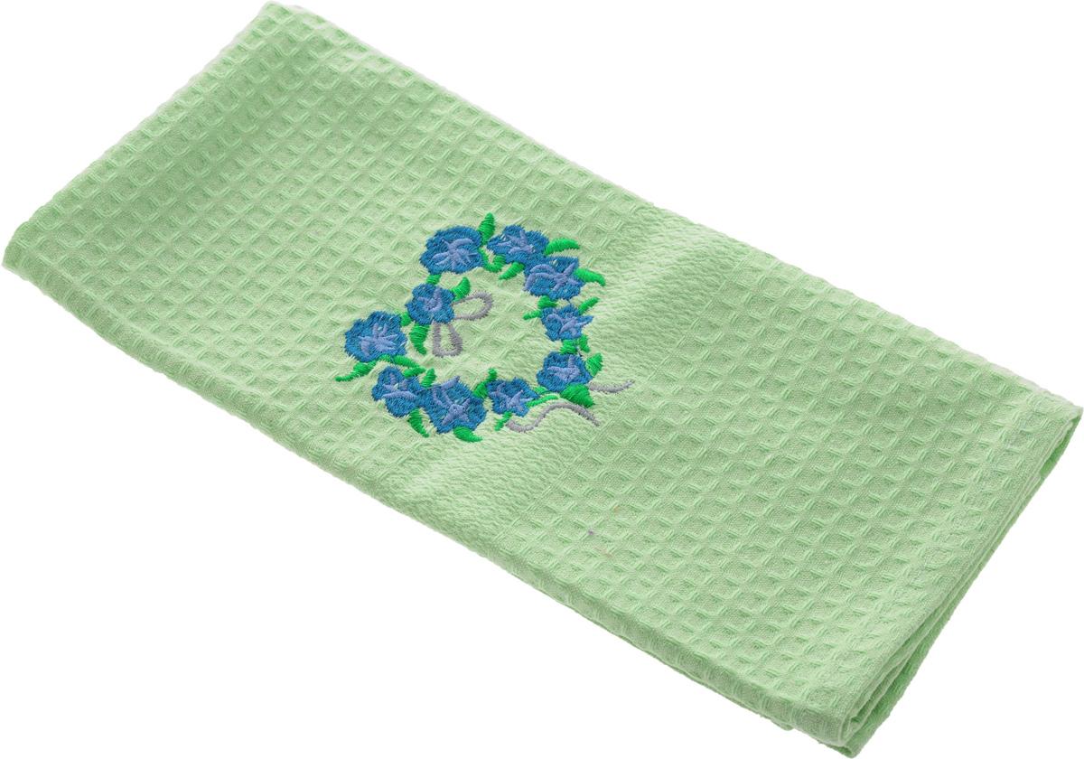Полотенце кухонное Soavita, цвет: светло-зеленый, 40 х 60 см. 48803531-401Кухонное полотенце Soavita выполнено из 100% хлопка. Оно отлично впитывает влагу, быстро сохнет, сохраняет яркость цвета и не теряет форму даже после многократных стирок. Изделие предназначено для использования на кухне и в столовой.Такое полотенце станет отличным вариантом для практичной и современной хозяйки.
