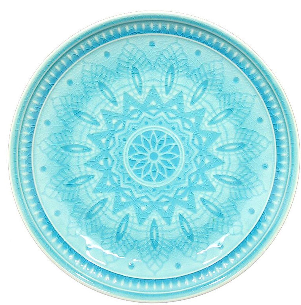 Набор тарелок десертных Tongo, цвет: голубая бирюза, диаметр 20,5 см, 6 штPL-205b Tongo Набор тарелок десертныхТрадиционная этническая посуда Индонезии. Декоративная техника придает посуде этнический шарм, с элементами старения, в виде паутинки мелких трещинок на поверхности эмали, что повышает ее привлекательность и ценность среди посудных аналогов. В процессе эксплуатации мелкие трещины так же могут проявляться на внутренних поверхностях кружек и салатников, - что так же является задумкой дизайнеров, заложенной в производственной технологии.