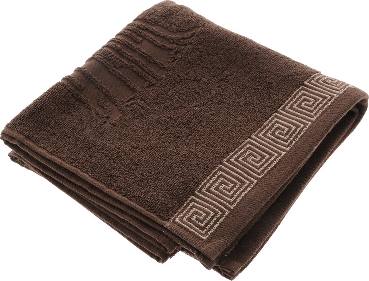 Полотенце Soavita Premium. Антик, цвет: коричневый, 45 х 80 см66165Полотенце Soavita Premium. Антик выполнено из 100% хлопка. Изделие отлично впитывает влагу, быстро сохнет, сохраняет яркость цвета и не теряет форму даже после многократных стирок. Полотенце очень практично и неприхотливо в уходе. Оно создаст прекрасное настроение и украсит интерьер в ванной комнате.