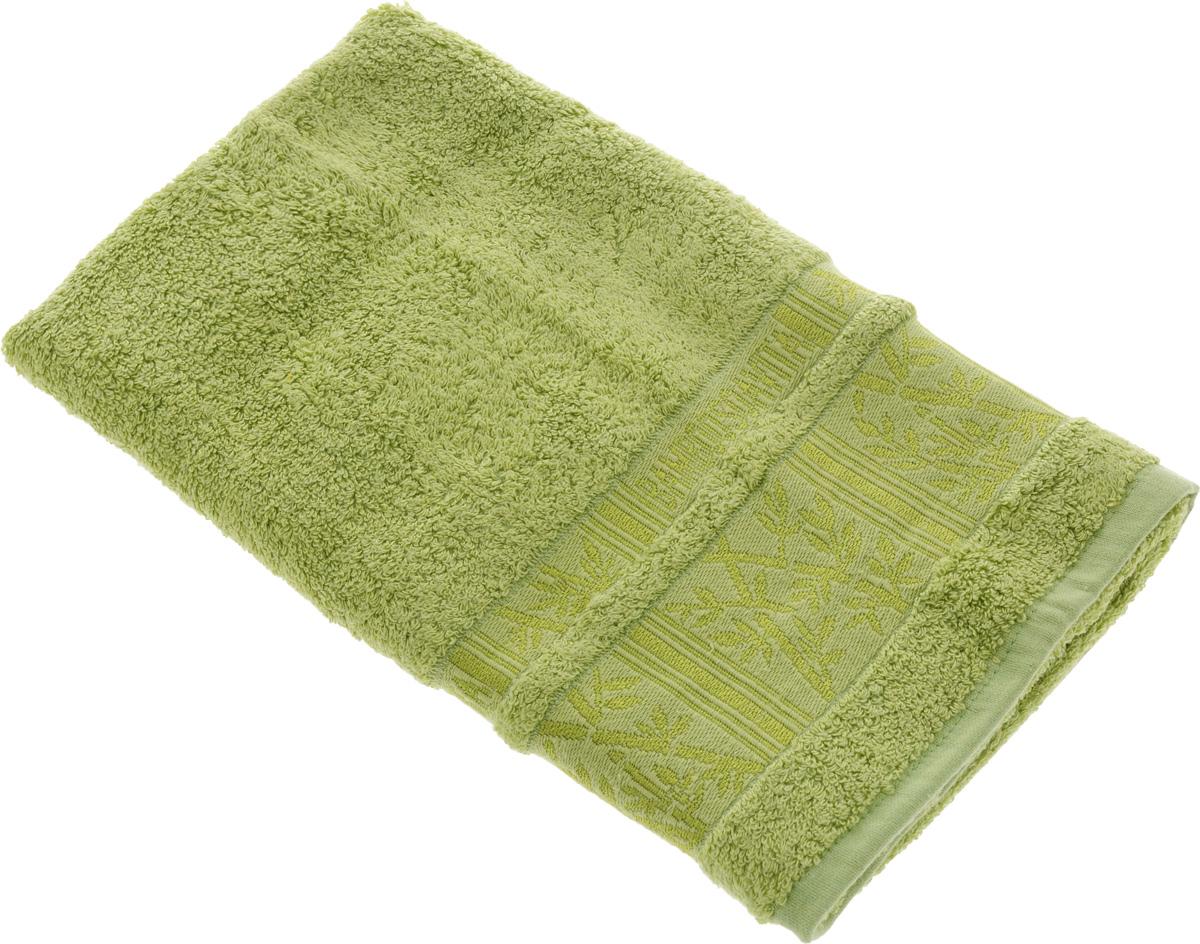 Полотенце Soavita Sofia, цвет: светло-зеленый, 50 х 90 см64110Полотенце Soavita Sofia выполнено из 100% бамбукового волокна. Изделие отлично впитывает влагу, быстро сохнет, сохраняет яркость цвета и не теряет форму даже после многократных стирок. Полотенце очень практично и неприхотливо в уходе. Оно создаст прекрасное настроение и украсит интерьер в ванной комнате.