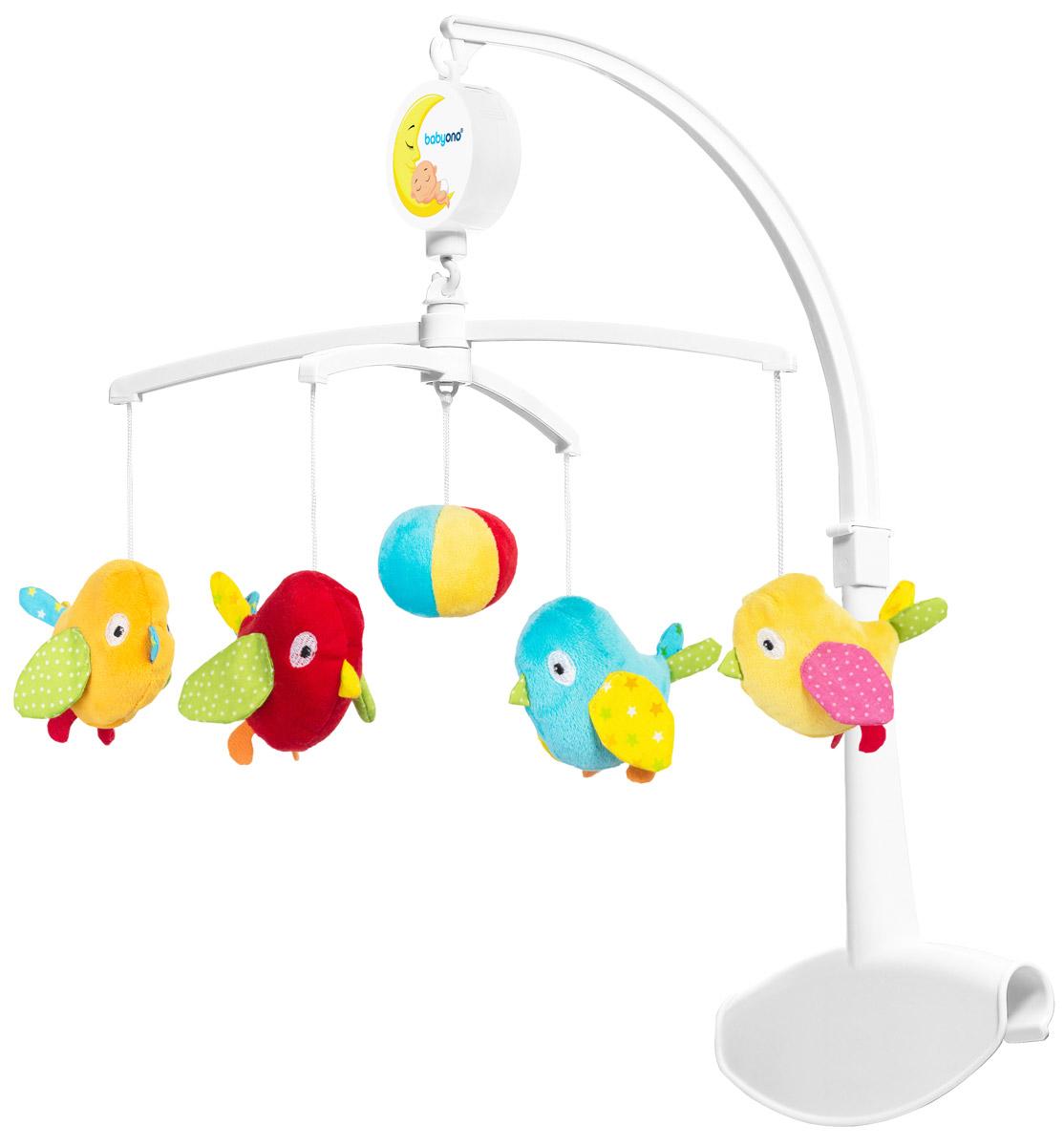 BabyOno Музыкальная карусель Птички 1368