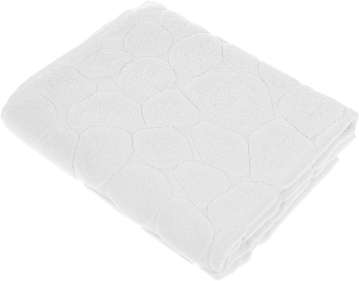 Коврик-полотенце для ванной Issimo Home Lavia, цвет: экрю, 60 x 90 см4742Коврик-полотенце для ванной Issimo Home Lavia выполнен из высококачественного хлопка. Такое изделие подарит вам массу положительных эмоций и приятных ощущений. Коврик отличается нежностью и мягкостью материала, утонченным дизайном и превосходным качеством. Он прекрасно впитывает влагу, быстро сохнет и не теряет своих свойств после многократных стирок.