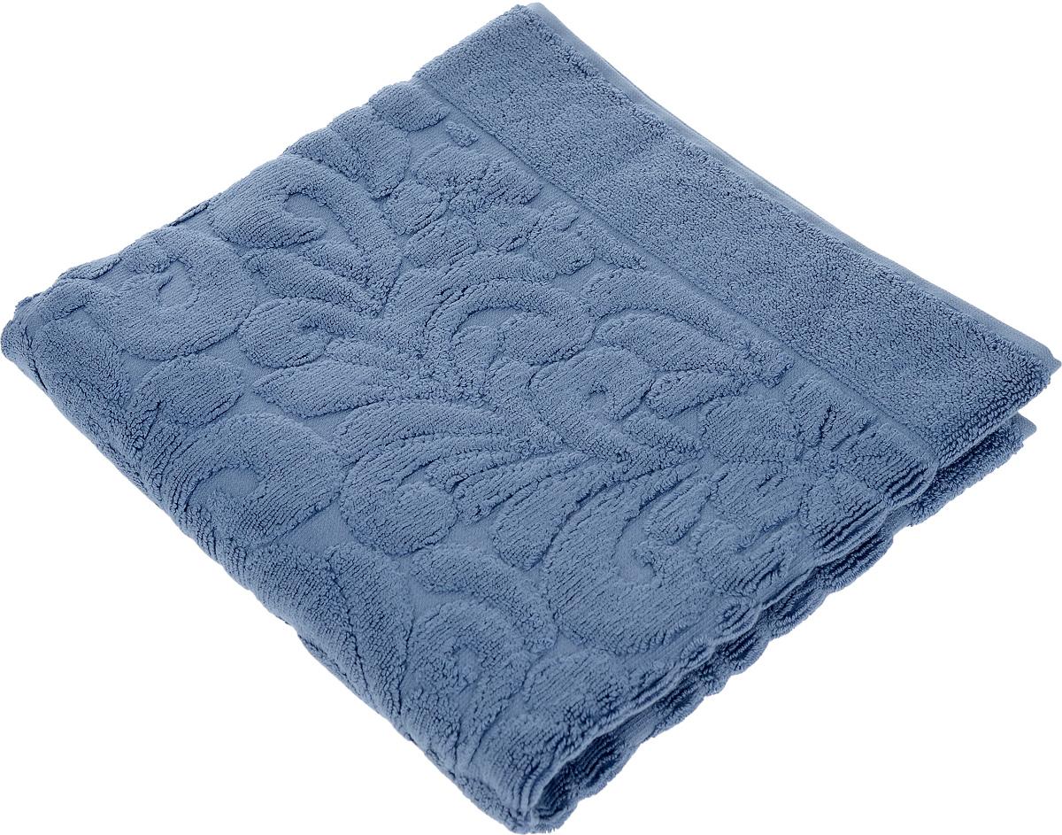 Коврик-полотенце для ванной Issimo Home Valencia, цвет: индиго, 50 x 80 см4717Коврик-полотенце для ванной Issimo Home Valencia выполнен из высококачественного хлопка и бамбука. Такое изделие подарит вам массу положительных эмоций и приятных ощущений. Коврик отличается нежностью и мягкостью материала, утонченным дизайном и превосходным качеством. Он прекрасно впитывает влагу, быстро сохнет и не теряет своих свойств после многократных стирок.