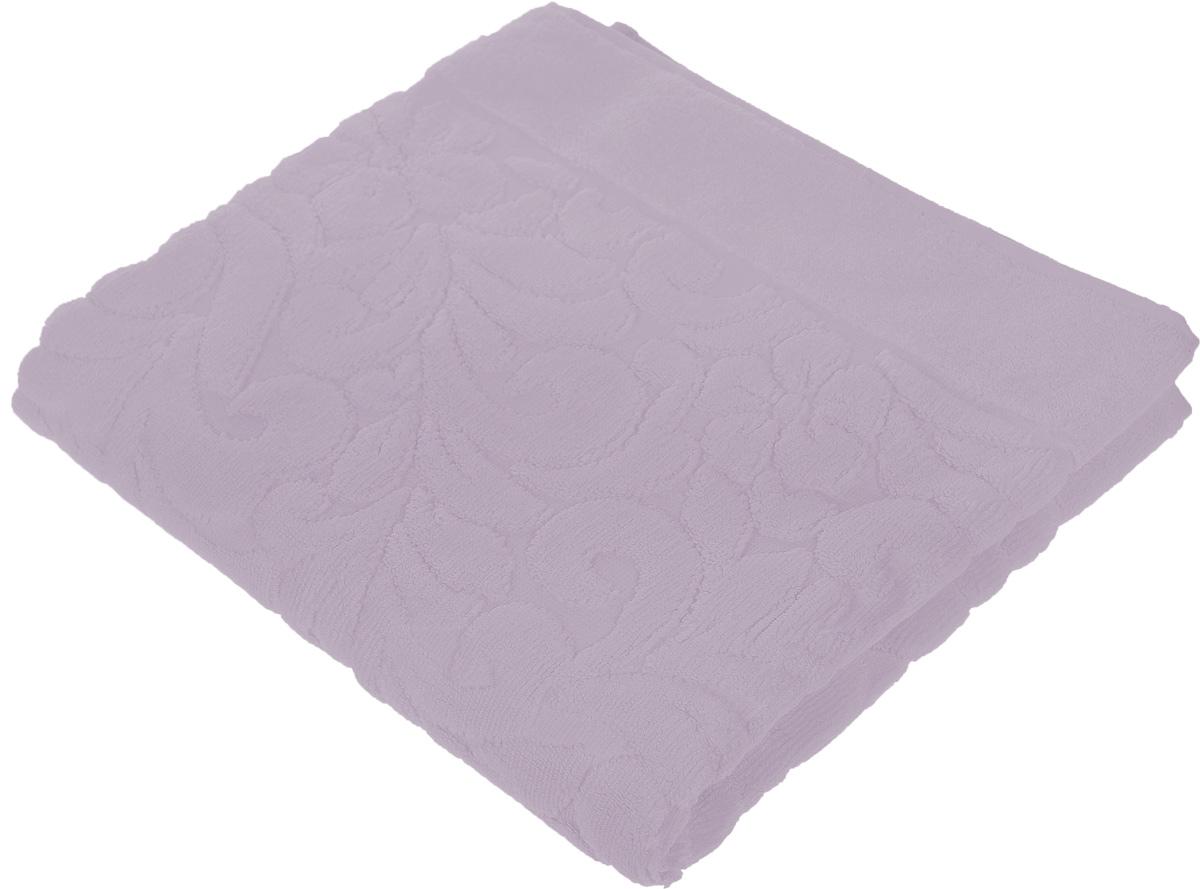 Коврик-полотенце для ванной Issimo Home Valencia, цвет: аметист, 50 x 80 см4710Коврик-полотенце для ванной Issimo Home Valencia выполнен из высококачественного хлопка и бамбука. Такое изделие подарит вам массу положительных эмоций и приятных ощущений. Коврик отличается нежностью и мягкостью материала, утонченным дизайном и превосходным качеством. Он прекрасно впитывает влагу, быстро сохнет и не теряет своих свойств после многократных стирок.