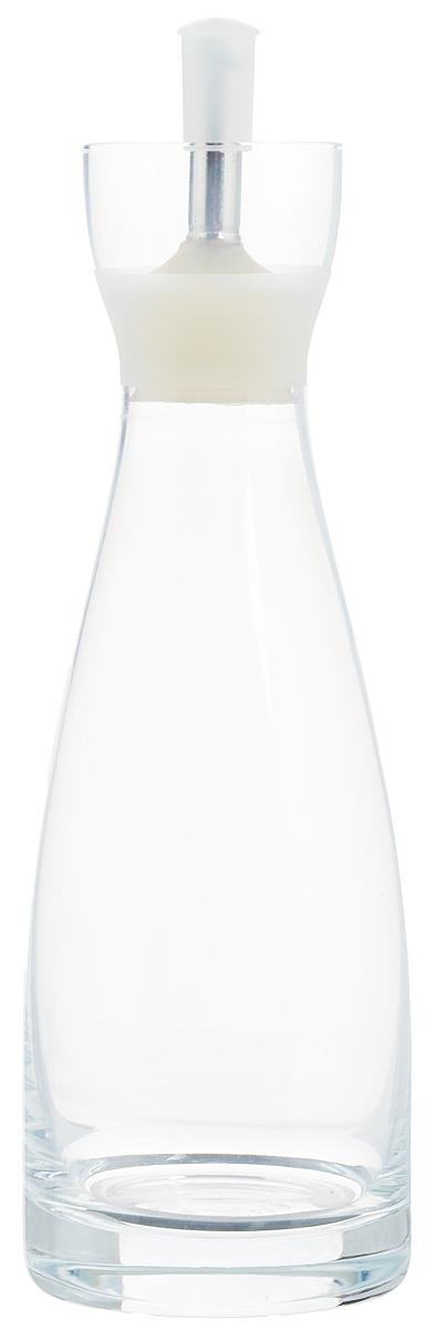 Емкость для масла и уксуса Zeller, 350 мл19956Емкость для масла или уксуса Zeller, выполненная из стекла, позволит украсить любую кухню. Она внесет разнообразие как в строгий классический стиль, так и в современный кухонный интерьер. Легка в использовании, стоит только перевернуть, и вы с легкостью сможете добавить оливковое масло или уксус. Оригинальная емкость будет отлично смотреться на вашей кухне. Диаметр по верхнему краю: 4,5 см. Высота емкости (с учетом крышки): 21,5 см.