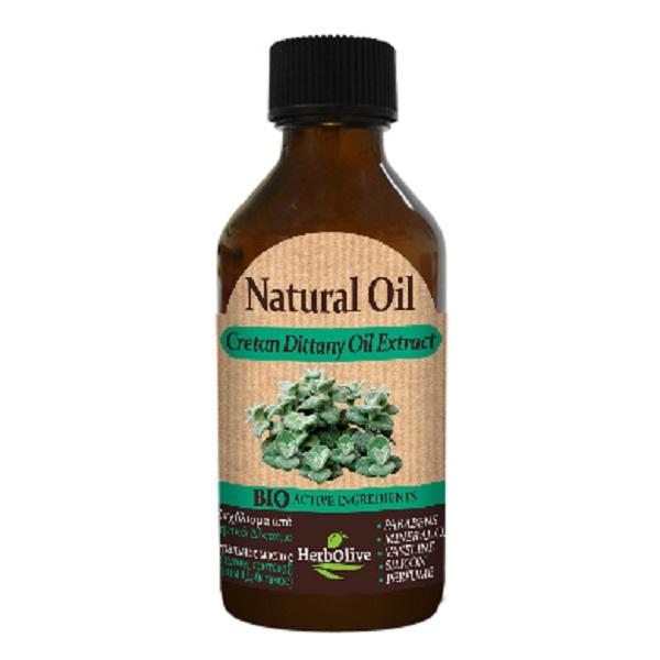 HerbOlive Натуральное масло с экстрактом критской душицы (диктамоса) 100 млБ33041_шампунь-барбарис и липа, скраб -черная смородинаКритская душица (диктамос) была известна еще в глубокой древности, благодаря своим целебным, противовоспалительным и успокаивающим свойствам. Ухаживает, защищает кожу, сохраняя ее нежной и сияющей. Идеально подходит для массажа, придает ощущение хорошего самочувствия для вашей кожи. Подходит для всех типов кожи. Продукт прошел дерматологические испытанияКосметика произведена в Греции на основе органического сырья, НЕ СОДЕРЖИТ минеральные масла, вазелин, пропиленгликоль, парабены, генетически модифицированные продукты (ГМО)