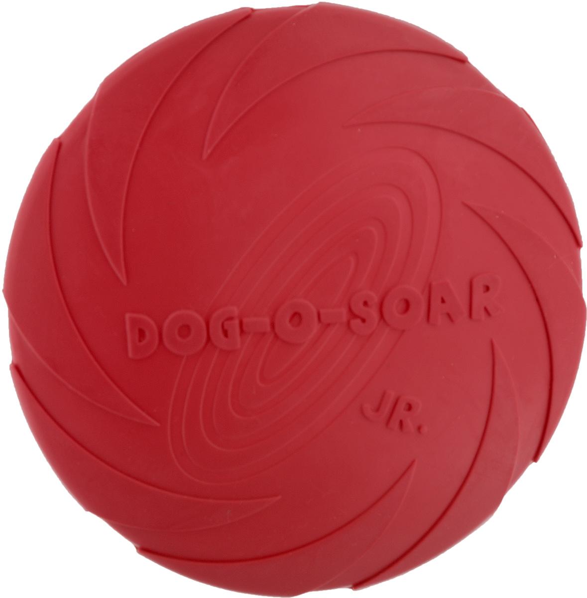 Игрушка для собак I.P.T.S. Фрисби, цвет: красный, диаметр 18 см0120710Игрушка I.P.T.S. Фрисби, выполненная из резины, отлично подойдет для совместных игр хозяина и собаки. В отличие от пластиковых, такая игрушка не образует острых зазубрин и трещин, способных повредить десны питомца. Совместные игры укрепляют взаимоотношение и понимание.Диаметр: 18 см.