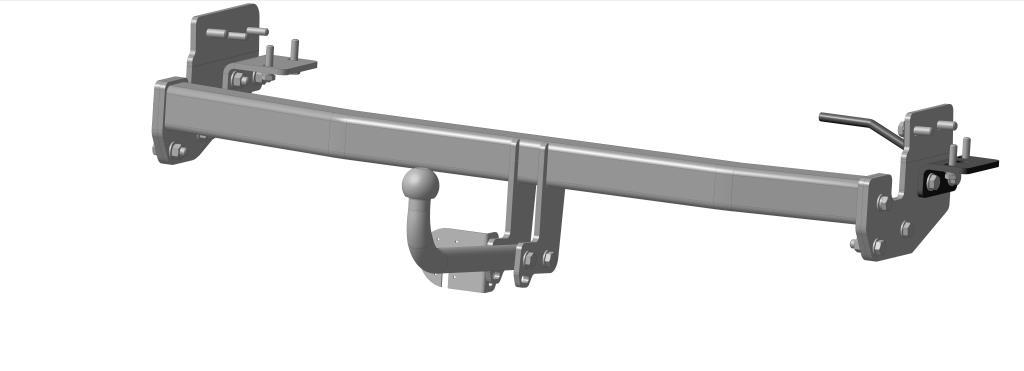Фаркоп Bosal для Infiniti FX 37, FX 50 2010->..., горизонтальная/вертикальная нагрузка на шар 1500/75 (без электрики), 8011-A8011-AТип шара А – съемный на двух болтах шар, грузоподъемность 1500 кг.