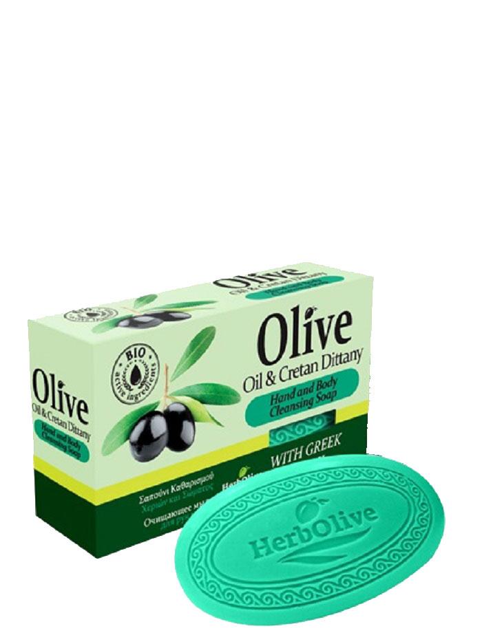 HerbOlive Оливковое мыло с диктамосом (критская душица) 90 г5200310401763Природные антиоксиданты которые содержатся в оливковом мыле увлажняют и питают кожу. Натуральное оливковое мыло, производится без искусственных красителей и химических добавок, стимулируют новые клетки к регенерации и замедляет старение. В то же время смягчает кожу и облегчает многие заболевания, включая акне, экзему. Косметика произведена в Греции на основе органического сырья, НЕ СОДЕРЖИТ минеральные масла, вазелин, пропиленгликоль, парабены, генетически модифицированные продукты (ГМО)