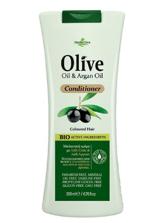 HerbOlive Кондиционер для окрашенных волос с маслом арганы, 200 мл5200310402487Кондиционеры Herbolive с содержанием натурального масла арганы идеальны для окрашенных и обезвоженных волос. Разработаны с целью смягчить и защитить волосы от внешней среды в любое время года. Волосы долго сохраняют яркий цвет, легко расчесываются, обретают жизненную силу и объем. Косметика произведена в Греции на основе органического сырья, НЕ СОДЕРЖИТ минеральные масла, вазелин, пропиленгликоль, парабены, генетически модифицированные продукты (ГМО)