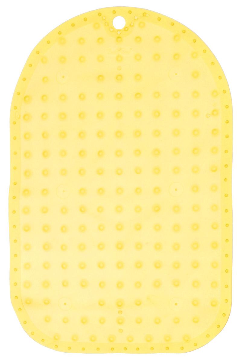 BabyOno Коврик противоскользящий для ванной цвет желтый 55 х 35 см122436Коврик противоскользящий для ванной BabyOno предназначен для детских ванночек, ванн и душевых кабин. Имеет присоски, исключающие перемещение коврика по поверхности.Для правильного закрепления коврика следует сначала наполнить ванну водой, а затем вложить коврик и равномерно прижать с каждой стороны.Во время купания ребенок должен находиться под постоянным присмотром взрослого. Перед первым и после каждого купания коврик следует промыть в теплой воде с добавлением детского мыла, ополоснуть и высушить. Изделие не является игрушкой. Хранить в месте, недоступном для детей. Не содержит фталатов.Товар сертифицирован.