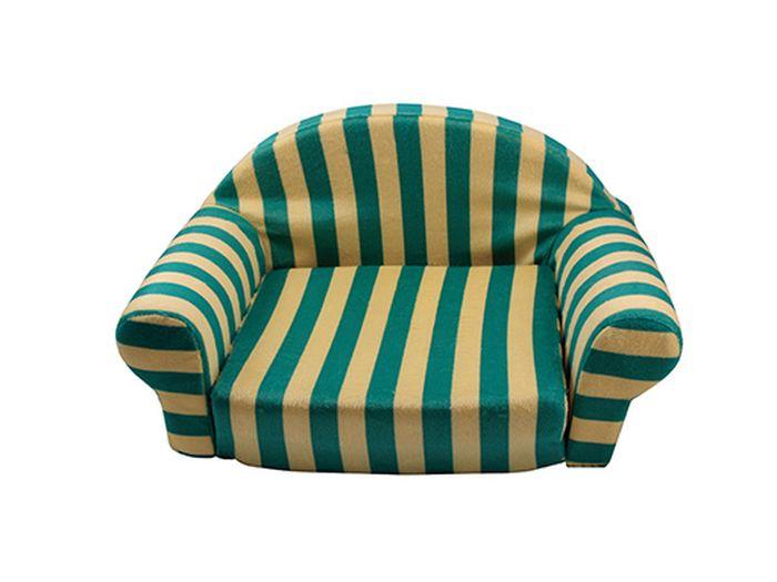 Лежак для животных Каскад Полосатый №2, цвет: желтый, зеленый, 52 х 32 х 26 см91002891Уютный лежак для животных Каскад Полосатый №2 обязательно понравится вашему питомцу. В нем питомец будет счастлив, так как лежак очень мягкий и приятный. Он будет проводить все свое свободное время в нем, отдыхать, наслаждаясь удобством. Лежак выполнен из мягкой качественной ткани в виде дивана. Мягкий лежак станет излюбленным местом вашего питомца, подарит ему спокойный и комфортный сон, а также убережет вашу мебель от многочисленной шерсти. Размер лежака: 52 х 32 х 26 см.