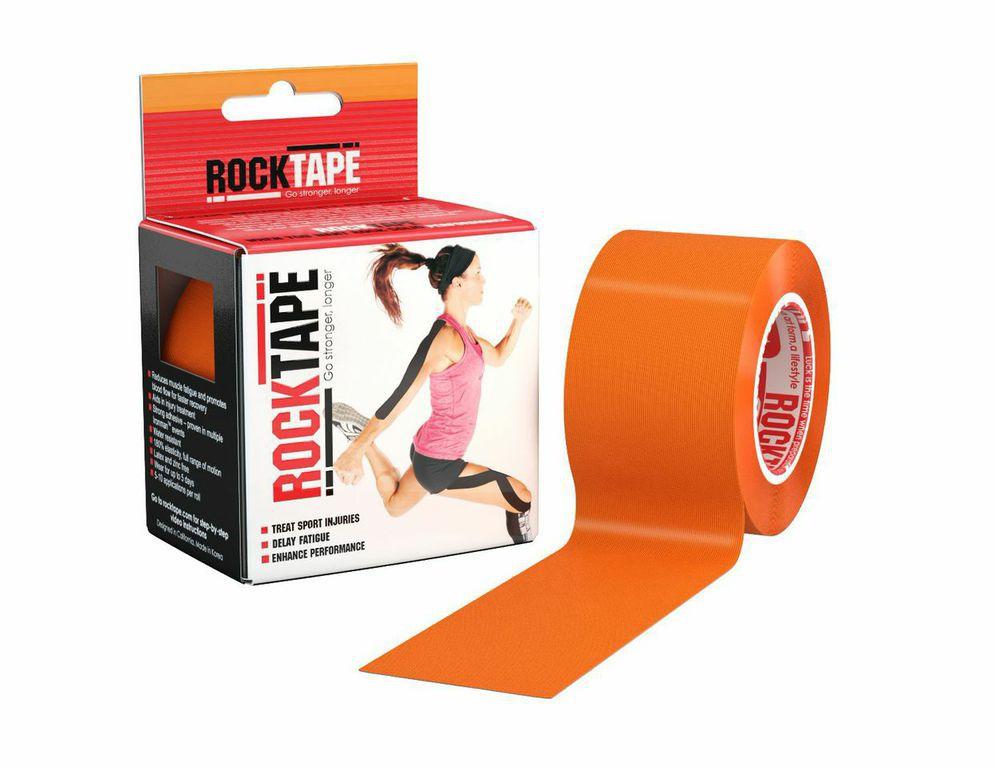 Кинезиотейп Rocktape Classic, цвет: оранжевый, 5 x 500 смAIRWHEEL Q3-340WH-BLACKКинезиотейп Rocktape Classic, выполненный из хлопка и нейлона, предназначен для снятия отеков и рассасывания гематом. Уменьшает мышечную усталость и способствует притоку крови для более быстрого восстановления. Изделие имеет плотную волнообразную структуру ткани. Не содержит латекса и цинка, водостойкий. Кинезиотейп носится до 5 дней, не теряя своих свойств. 180% эластичности.
