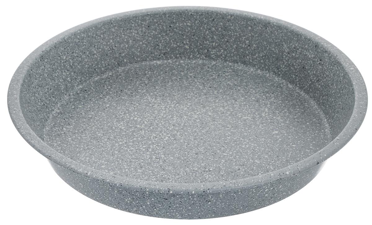 Форма для выпечки Mayer & Boch, круглая, с антипригарным покрытием, диаметр 28 см24959Форма для выпечки Mayer & Boch изготовлена из высококачественной углеродистой стали с антипригарным мраморным покрытием. Покрытие не оставляет послевкусия, делает возможным приготовление блюд без масла, сохраняет витамины и питательные вещества. Оно обладает повышенной стойкостью к царапинам и внешним воздействиям. Антипригарная форма - лучший современный вариант для использования в духовом шкафу. Незаменимый атрибут для приготовления запеканок, всевозможных блюд из мяса и овощей, а также выпечки из теста и изысканных кондитерских блюд. Внутренний диаметр формы: 26 см. Внешний диаметр формы: 28 см. Высота стенки: 4,8 см.
