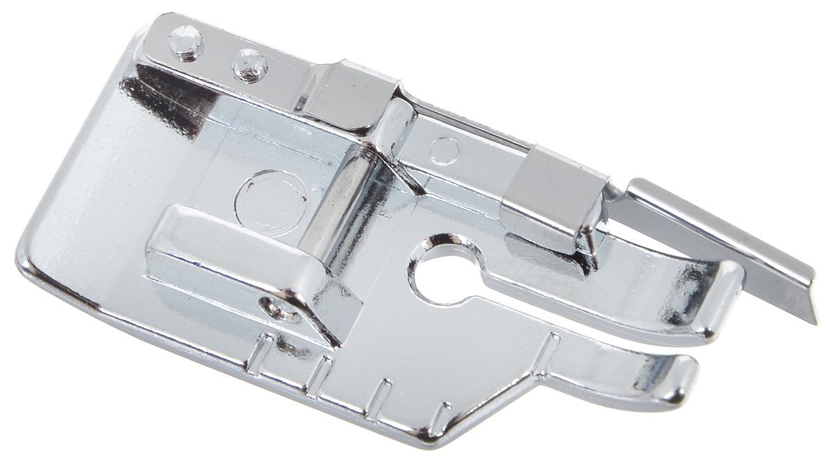 Лапка для швейной машины Aurora, для пэчворка, с направляющей9829Лапка для швейной машины Aurora используется для соединения деталей ткани при выстегивании и пэчворке с припуском на шов 6,4 мм. Позволяет получать прекрасные результаты при соединении длинных кусков материала. Небольшое отверстие под иглу обеспечивает правильный прижим лапки и ровную прямую строчку. Подходит для большинства современных бытовых швейных машин. Инструкция по использованию прилагается.