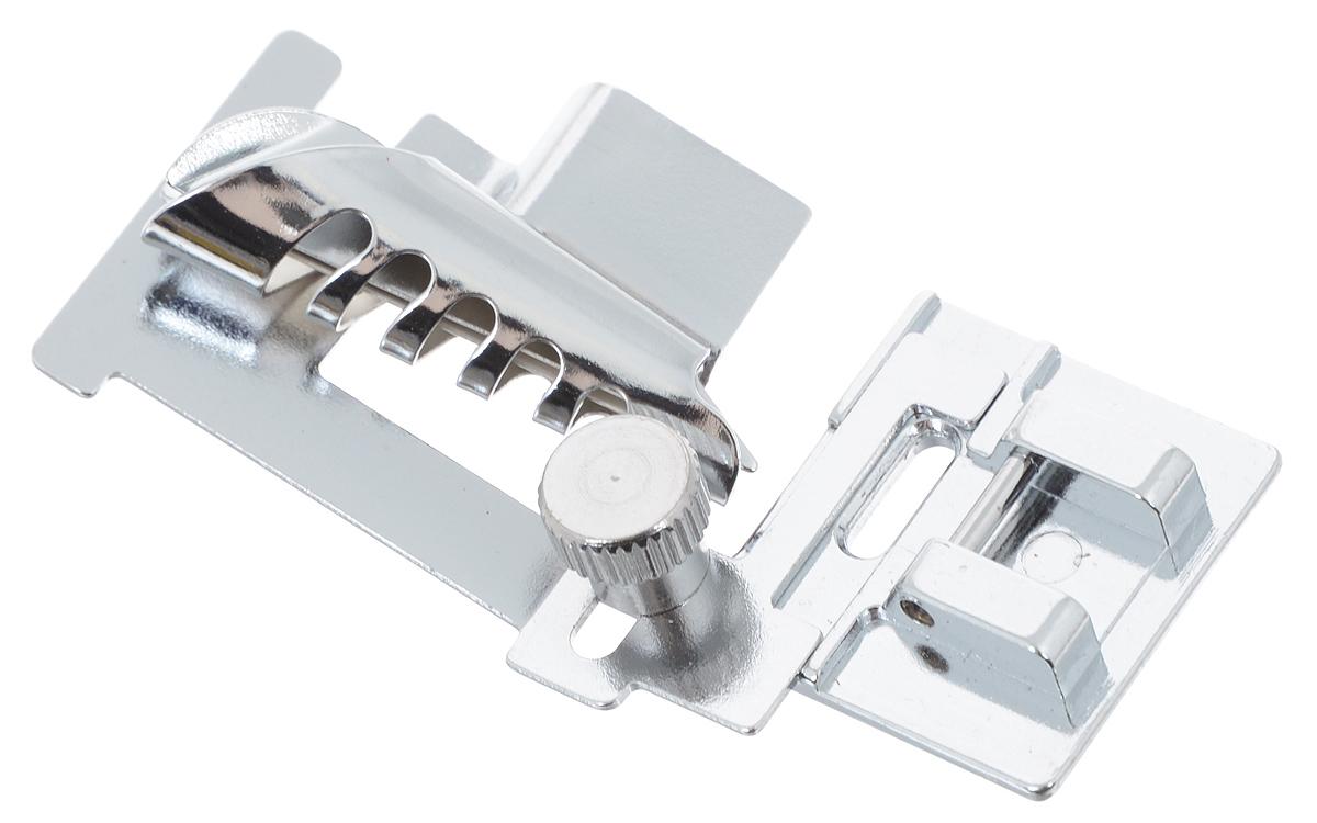 Лапка для швейной машины Aurora, без адаптера, для окантовки срезов косой бейкойAU-148Лапка для швейной машины Aurora используется для обработки краев ткани косой бейкой или отделочной тесьмой. Подходит для большинства современных бытовых швейных машин. Инструкция по использованию прилагается.