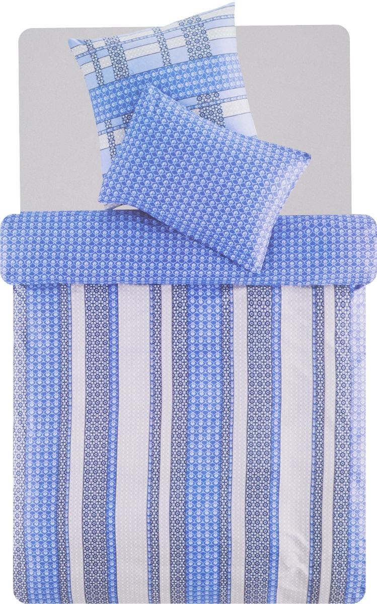 Комплект белья TAC Leiko, 1,5-спальный, наволочки 50х70, 70х70DAVC150Роскошный комплект постельного белья TAC Leiko выполнен из качественного плотного сатина с использованием фирменного нанесения Pano. Комплект состоит из пододеяльника, простыни и двух наволочек. Пододеяльник застегивается на пуговицы.Сатин - гладкая и прочная ткань, которая своим блеском, легкостью и гладкостью похожа на шелк, но выгодно отличается от него в цене. Сатин практически не мнется, поэтому его можно не гладить. Ко всему прочему, он весьма практичен, так как хорошо переносит множественные стирки.Доверьте заботу о качестве вашего сна высококачественному натуральному материалу.