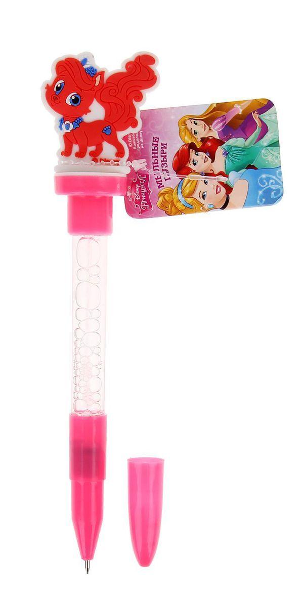 Disney Мыльные пузыри ручка с печатью и светом Королевские питомцы 10 мл + игрушка