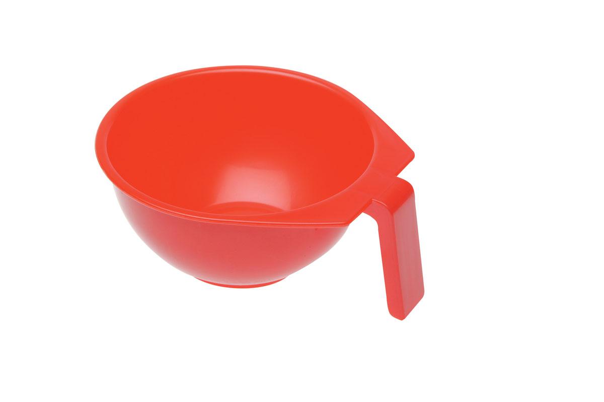 Dewal Чаша для краски, красная, с ручкой, 400 мл
