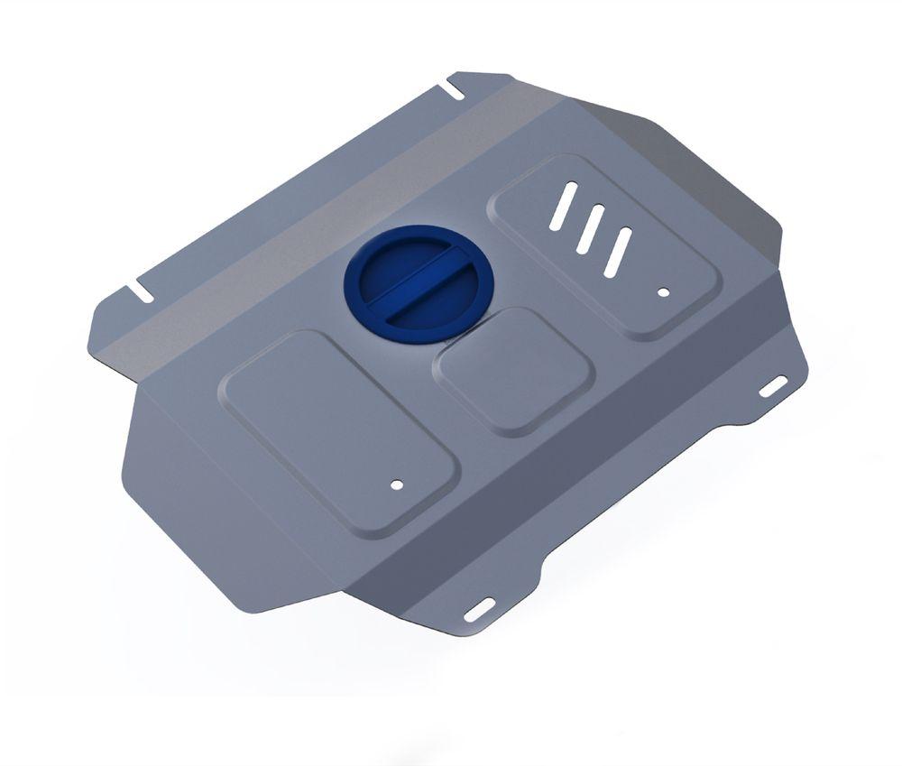 Защита радиатора и картера Rival, для Toyota Hilux. 3.9502.13.9502.1Защита радиатора и картера часть 2 для Toyota Hilux 4WD, V - 2,4; 2,8 2015- , без крепежа (штатный), алюминий 4 мм, Rival. Надежно защищают днище вашего автомобиля от повреждений, например при наезде на бордюры, а также выполняют эстетическую функцию при установке на высокие автомобили. - Толщина алюминиевых защит в 2 раза толще стальных, а вес при этом меньше до 30%. - Отлично отводит тепло от двигателя своей поверхностью, что спасает двигатель от перегрева в летний период или при высоких нагрузках. - В отличие от стальных, алюминиевые защиты не поддаются коррозии, что гарантирует срок службы защит более 5 лет. - Покрываются порошковой краской, что надолго сохраняет первоначальный вид новой защиты и защищает от гальванической коррозии. - Глубокий штамп дополнительно усиливает конструкцию защиты. - Подштамповка в местах крепления защищает крепеж от срезания. - Технологические отверстия там, где они необходимы для...