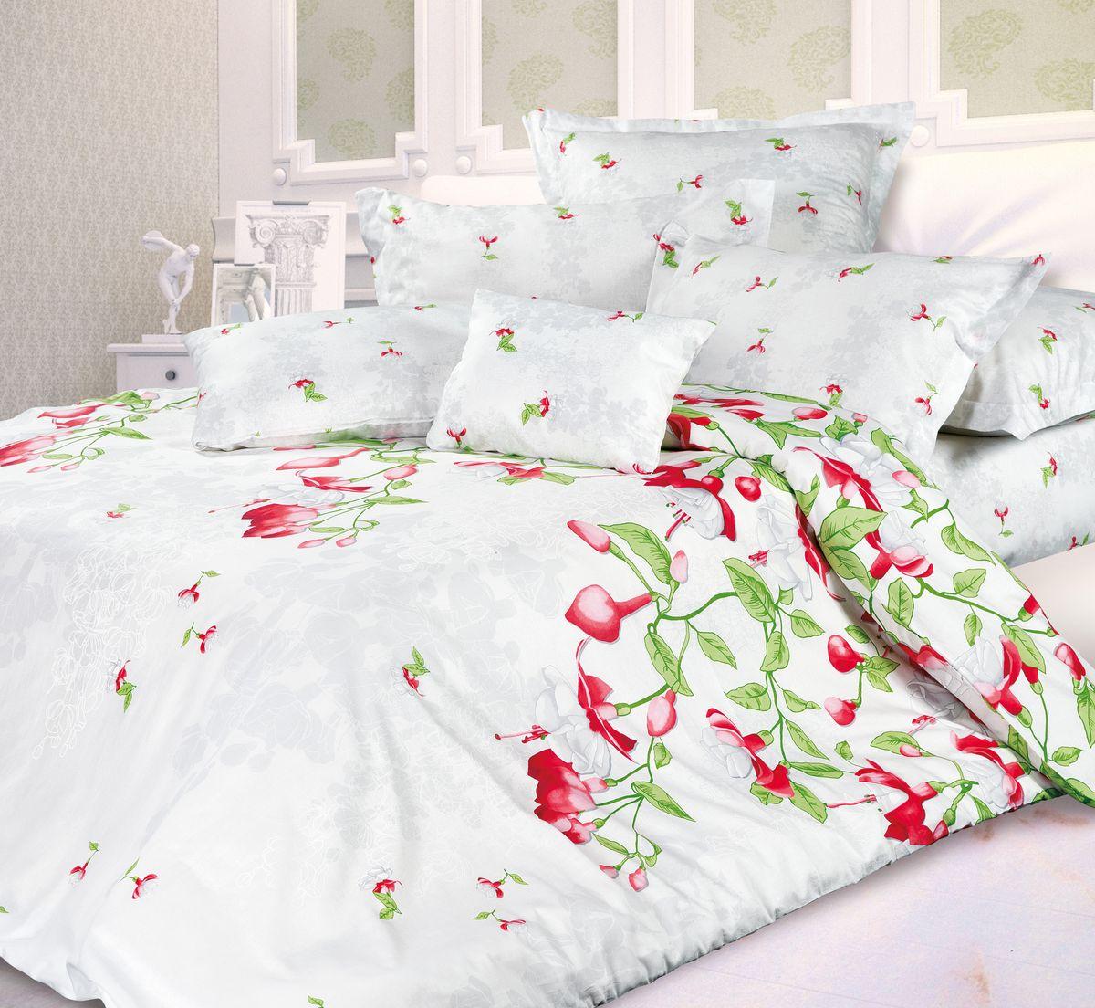 Комплект белья Унисон Фуксия, 1,5 спальное, наволочки 70 x 70. 339567339567