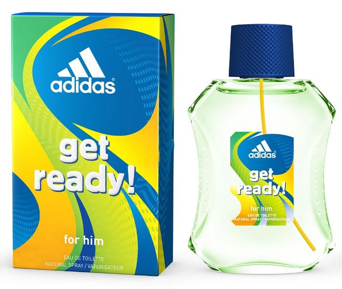 Adidas Лосьон после бритья Get Ready! For Him After-Shave RevItalising, 50 мл340009368261/3607342734562Для сильных, спортивных и целеустремленных мужчин.