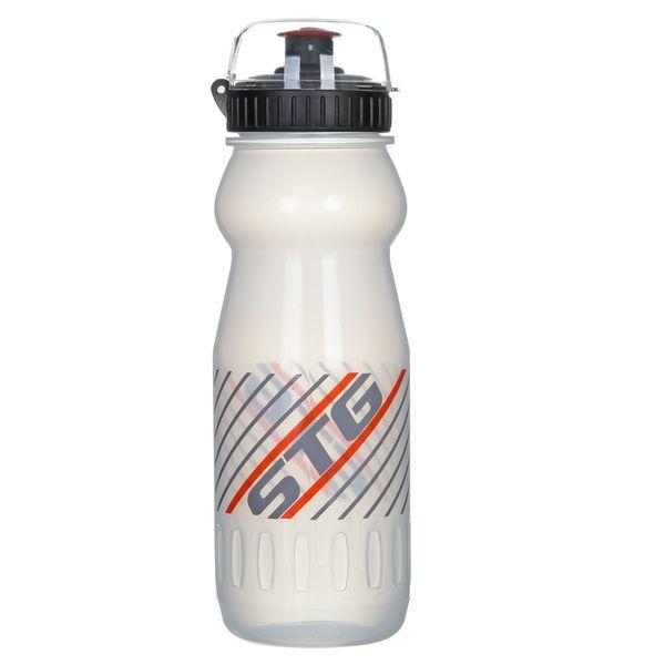 Велофляга ED-BT14, 600 мл, цвет: белый прозрачный. Х61862-5Х61862-5Велофляга STG, ED-BT14, 600мл TRANSPARENT