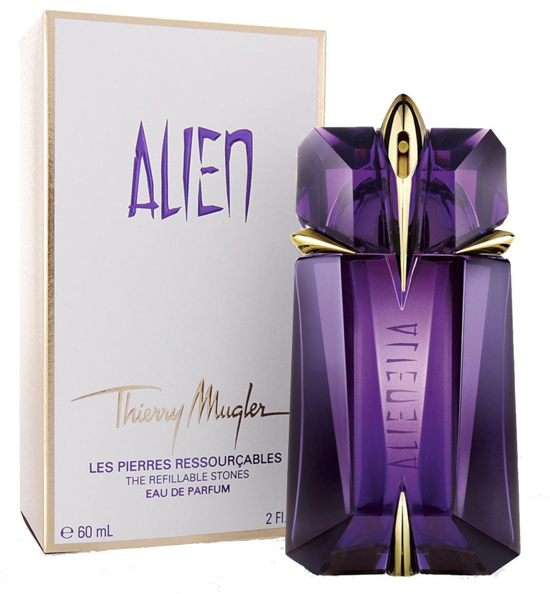 Thierry Mugler Парфюмированная вода Alien, женская, 60 мл13984Древесные, ориентальные. Жасмин, древесина, амбра.