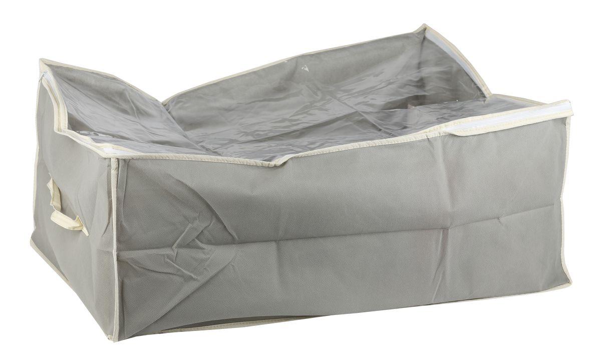 Чехол для вещей White Fox Standart, цвет: серый, 30 х 50 х 60 смWHHH10-349Коллекция Standart от White Fox изготовлена из нетканного полотна, наиболее популярного среди товаров для хранения вещей. В коллекции представлены самые популярные вещи: подвесные кофры, короба с крышками и без, мягкие чехлы для вещей, чехлы для костюмов. Все изделия упакованы в компактную упаковку, которая имеет подвес. Короба складываются.