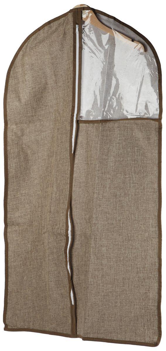 Чехол для одежды White Fox Linen, цвет: бежевый, 60 х 100 смWHHH10-370Коллекция Linen от White Fox изготовлена из полиэстера стилизованного под Лен. В коллекции представлены самые популярные вещи: подвесные кофры, короба с крышками и без, мягкие чехлы для вещей, чехлы для костюмов. Все изделия упакованы в компактную упаковку, которая имеет подвес. Короба складываются.