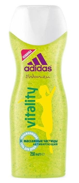 "Adidas Гель для душа увлажняющий ""VItalIty"", женский, 250 мл 34013057452/3607347395645/3607347395669"