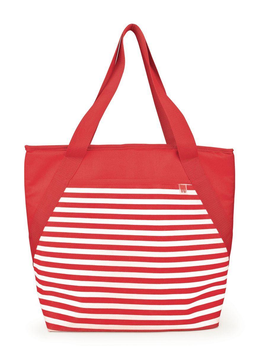 Сумка-холодильник Iris BEACH, цвет: красныйI9160-TСумка-холодильник BEACH - лучший способ для транспортировки еды на пляж, пикник, в поездку, из супермаркета. Имеется регулируемый плечевой ремень, боковой сетчатый карман для напитков, просторный внешний карман, внутренний сетчатый карман. Сумка изготовлена из очень плотного, ультрастойкого изоляционного материала. Размер: 26 х 33 х 14 см Материал: полиэстер