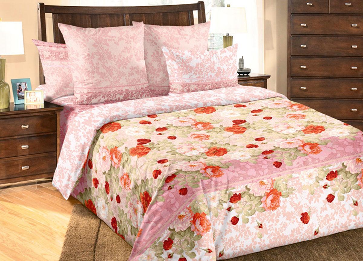 Комплект белья Primavera Теплый день, 1,5-спальный, наволочки 70x70, цвет: розовый83290Наволочки с декоративным кантом особенно подойдут, если вы предпочитаете класть подушки поверх покрывала. Кайма шириной 5-10см с трех или четырех сторон делает подушки визуально более объемными, смотрятся они очень аккуратно, даже парадно. Еще такие наволочки называют оксфордскими или наволочками «с ушками». Сатин – прочная и плотная ткань с диагональным переплетением нитей. Хлопковый сатин по мягкости и гладкости уступает атласу, зато не будет соскальзывать с кровати. Сатиновое постельное белье легко переносит стирку в горячей воде, не выцветает. Прослужит комплект из обычного сатина меньше, чем из сатина повышенной плотности, но дольше белья из любой другой хлопковой ткани. Сатин приятен на ощупь, под ним комфортно спать летом и зимой. Производство «Примавера» находится в Китае, что позволяет сократить расходы на доставку хлопка. Поэтому цены на это постельное белье более чем скромные и это не сказывается на качестве. Сатин очень гладкий, мягкий, но при этом, невероятно прочный....