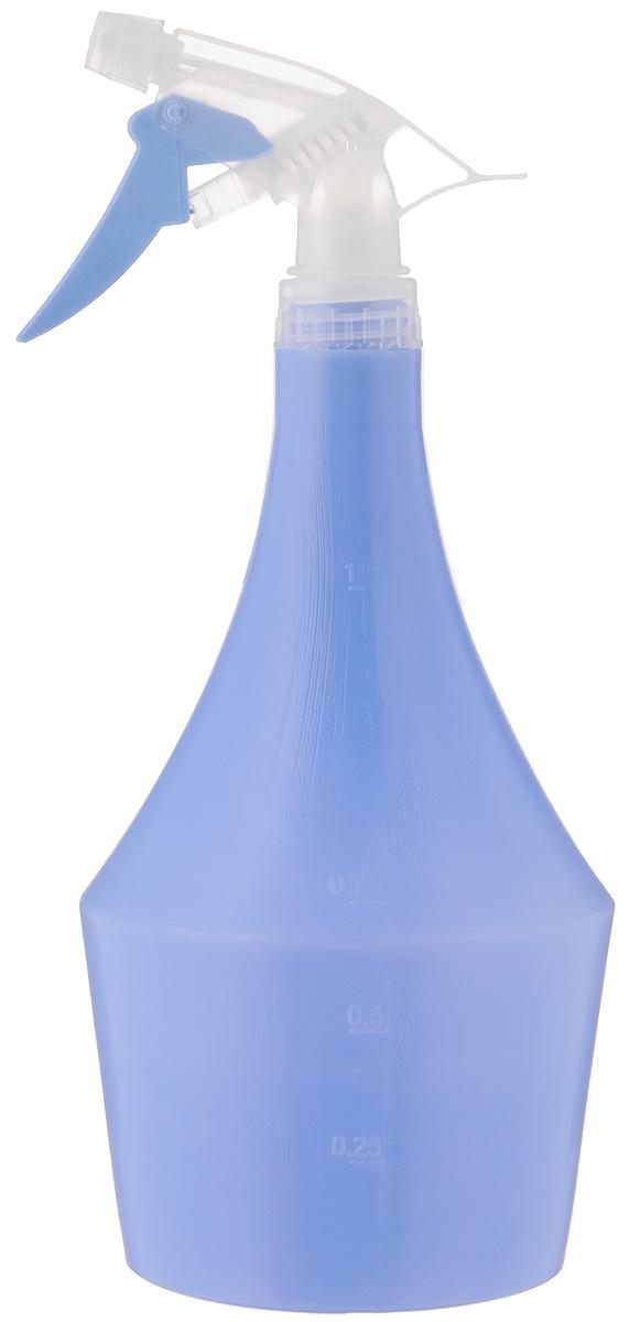 Опрыскиватель Idea Пирамида, цвет: голубой, 1 лМ 2146_голубойОпрыскиватель Idea Пирамида оснащен специальной насадкой. Изготовлен из полипропилена и всегда поможет вам в уходе за вашими любимыми растениями. На внешней стенке имеется мерная шкала. Объем: 1 л. Высота: 27,5 см.