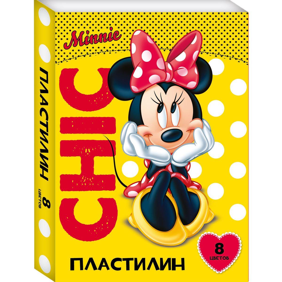 Disney Пластилин Минни 8 цветов72523WDЯркий и легко размягчающийся пластилин Disney Минни поможет вашему малышу создать множество интересных поделок, а очаровательная Минни Маус вдохновит кроху на новые творческие идеи. Лепить из этого пластилина - одно удовольствие: он обладает отличными пластичными свойствами, не липнет к рукам, не имеет запаха, безопасен при использовании по назначению. Смешивайте цвета, фантазируйте, экспериментируйте и развивайте своего малыша: лепка активно тренирует у ребенка мелкую моторику и умение работать пальчиками, развивает тактильное восприятие формы, веса и фактуры, совершенствует воображение и пространственное мышление. А главное - лепить фигурки в компании любимой героини невероятно весело! В наборе 12 цветов пластилина, которые легко смешиваются друг с другом. Состав: парафин, петролатум, мел, каолин, красители.