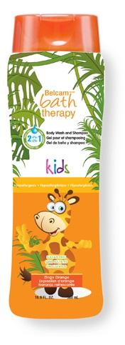 Bath Therapy 2 в 1 Детский гель для душа и шампунь для волос Взрывной апельсин, 500 млFS-00897Ультранежный гель для душа и шампунь для волос идеально подходят для мягкого очищения чувствительной детской кожи. Тщательно разработанная, безопасная формула не содержит вредных химических веществ и защищает слизистую глаз от раздражения. В состав средств Bath Therapy входят только безопасные для здоровья ингредиенты.Товар сертифицирован.