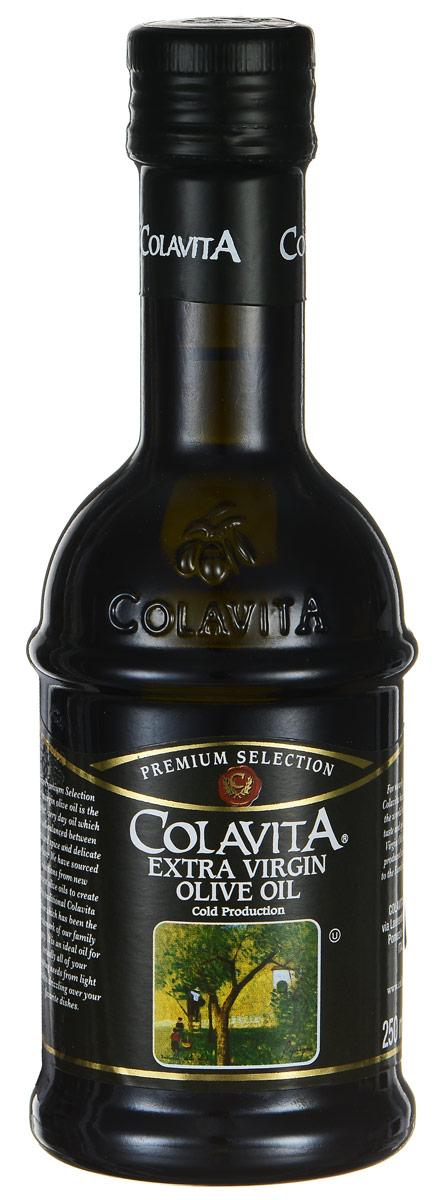 Colavita Extra Virgin масло оливковое нерафинированное, 250 млCLEXTM250Colavita Extra Virgin - это оливковое масло первого холодного отжима. Густое темное нерафинированное масло обладает легкой горчинкой, изготовлено без фильтрации, из свежих итальянских оливок, сохранивших все свои натуральные свойства. Нерафинированное масло - это ценнейший диетический, оздоровительный продукт для правильного и рационального питания, который легче других масел усваивается организмом.
