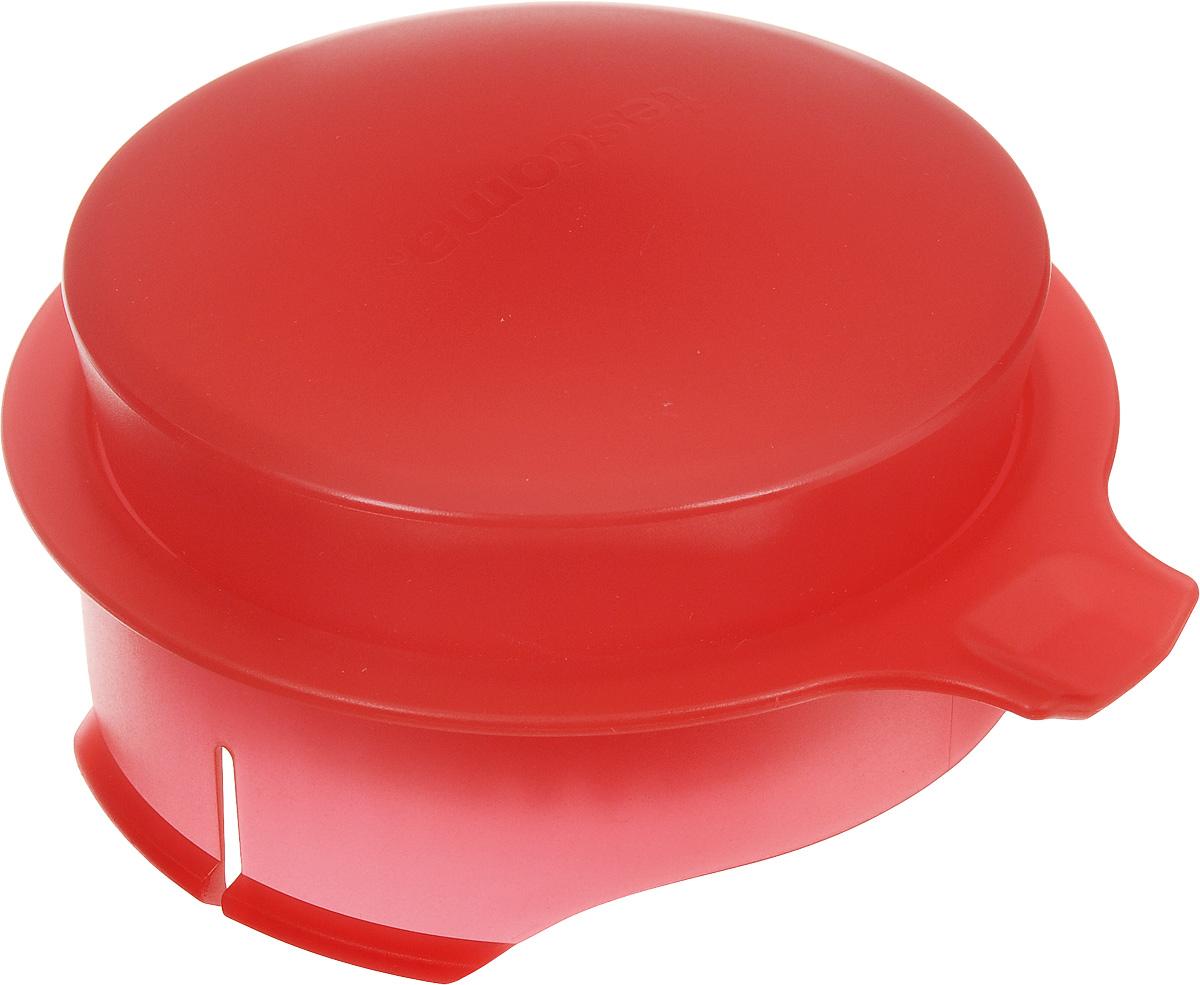 Соковыжималка для цитрусовых Tescoma, для кувшина Teo 2,5 л, цвет: красный646611_красныйСоковыжималка Tescoma, выполненная из высококачественного пластика, станет полезным аксессуаром на любой кухне. Она подходит для кувшина Teo объемом 2,5 л. Соковыжималка состоит из насадки и крышки и идеально подойдет для мелких и крупных цитрусовых фруктов. Достаточно разрезать фрукты пополам, зафиксировать на насадке и покрутить. Сок поступает в кувшин. Простая и удобная в использовании соковыжималка Tescoma займет достойное место среди кухонного инвентаря. Можно мыть в посудомоечной машине. Диаметр соковыжималки по верхнему краю: 11 см. Высота соковыжималки с учетом крышки: 4,5 см.
