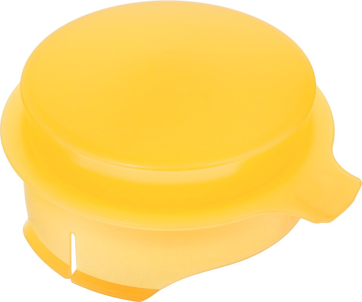 Соковыжималка для цитрусовых Tescoma, для кувшина Teo 2,5 л, цвет: желтый646611_желтыйСоковыжималка Tescoma, выполненная из высококачественного пластика, станет полезным аксессуаром на любой кухне. Она подходит для кувшина Teo объемом 2,5 л. Соковыжималка состоит из насадки и крышки и идеально подойдет для мелких и крупных цитрусовых фруктов. Достаточно разрезать фрукты пополам, зафиксировать на насадке и покрутить. Сок поступает в кувшин. Простая и удобная в использовании соковыжималка Tescoma займет достойное место среди кухонного инвентаря. Можно мыть в посудомоечной машине. Диаметр соковыжималки по верхнему краю: 11 см. Высота соковыжималки с учетом крышки: 4,5 см.