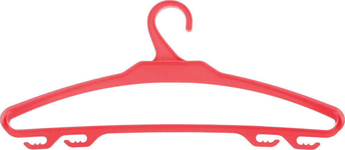 Вешалка для верхней одежды BranQ, цвет: коралловый, размер 48-50BQ1882МИКС_коралловыйВешалка для верхней одежды BranQ, выполненная из высококачественного полипропилена (пластика), оснащена перекладиной и боковыми крючками. Вешалка - это незаменимая вещь для того, чтобы ваша одежда всегда оставалась в хорошем состоянии. Размер одежды: 48-50.