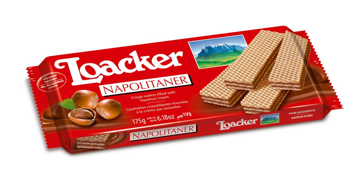 """Loacker """"Наполитанер"""" вафли, 175 г 10731-042"""