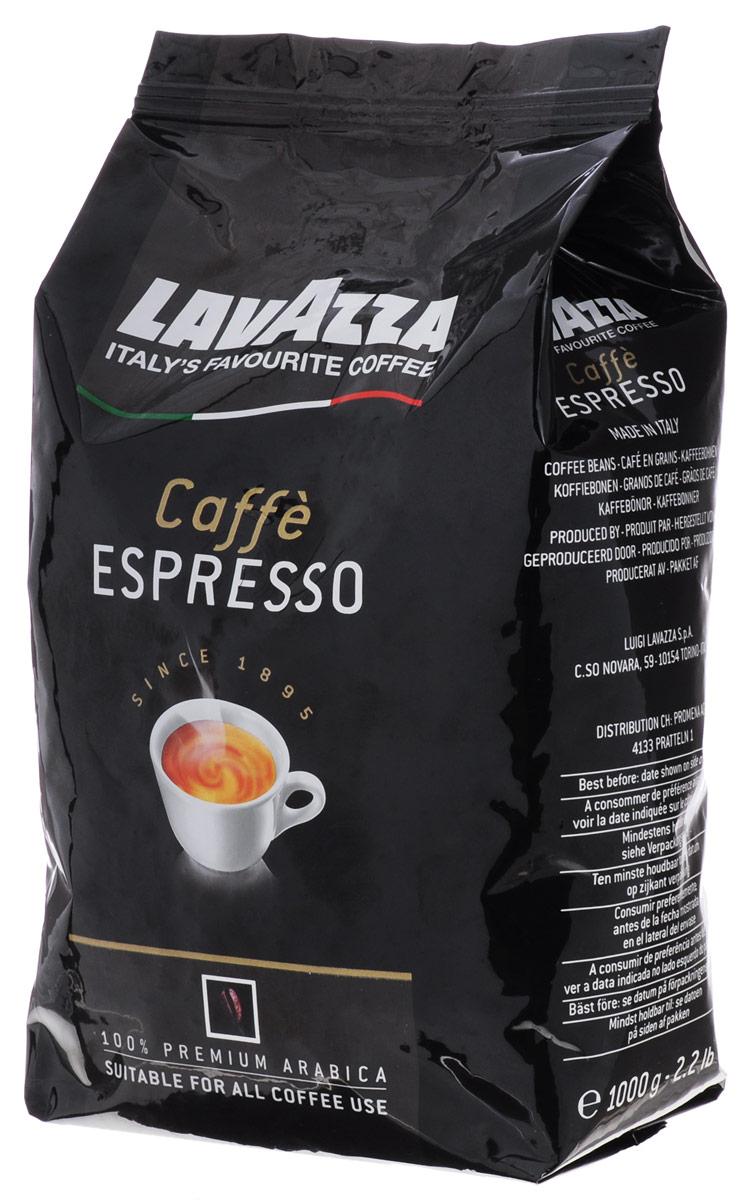 Lavazza Caffe Espresso кофе в зернах, 1 кг8000070018747Любите крепкий, насыщенный кофе? Присмотритесь к отличному купажу Lavazza Caffe Espresso изготовлен из стопроцентной арабики высшего сорта, завезенной из Центральной Америки и Африки, которые придают этому кофе незабываемый вкус и тонкий аромат. Lavazza Espresso - для истинных любителей и знатоков настоящего кофе!