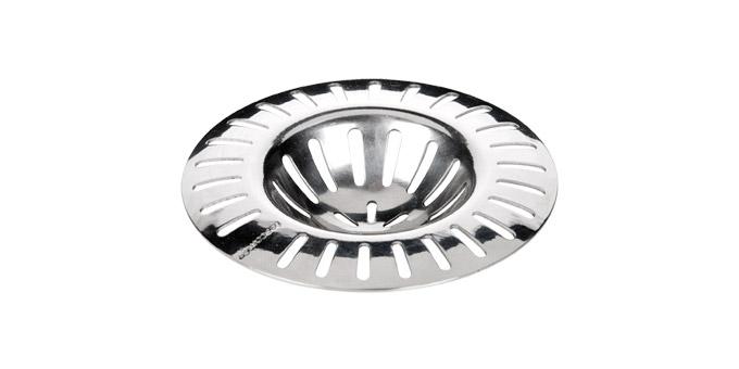 Фильтр для раковины Tescoma Presto, диаметр 7 см115212Фильтр Tescoma Presto, выполненный из нержавеющей стали, используется для улавливания нечистот в раковинах и ванных, предотвращает забивание канализационных труб остатками еды. Фильтр имеет специальное углубление для раковины. Изделие поможет предотвратить засорение вашей раковины. Можно мыть в посудомоечной машине. Диаметр фильтра: 7 см.