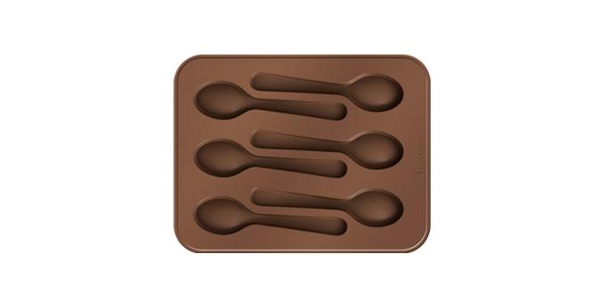 """Форма для шоколада Tescoma """"Delicia. Ложечки"""", 6 ячеек"""