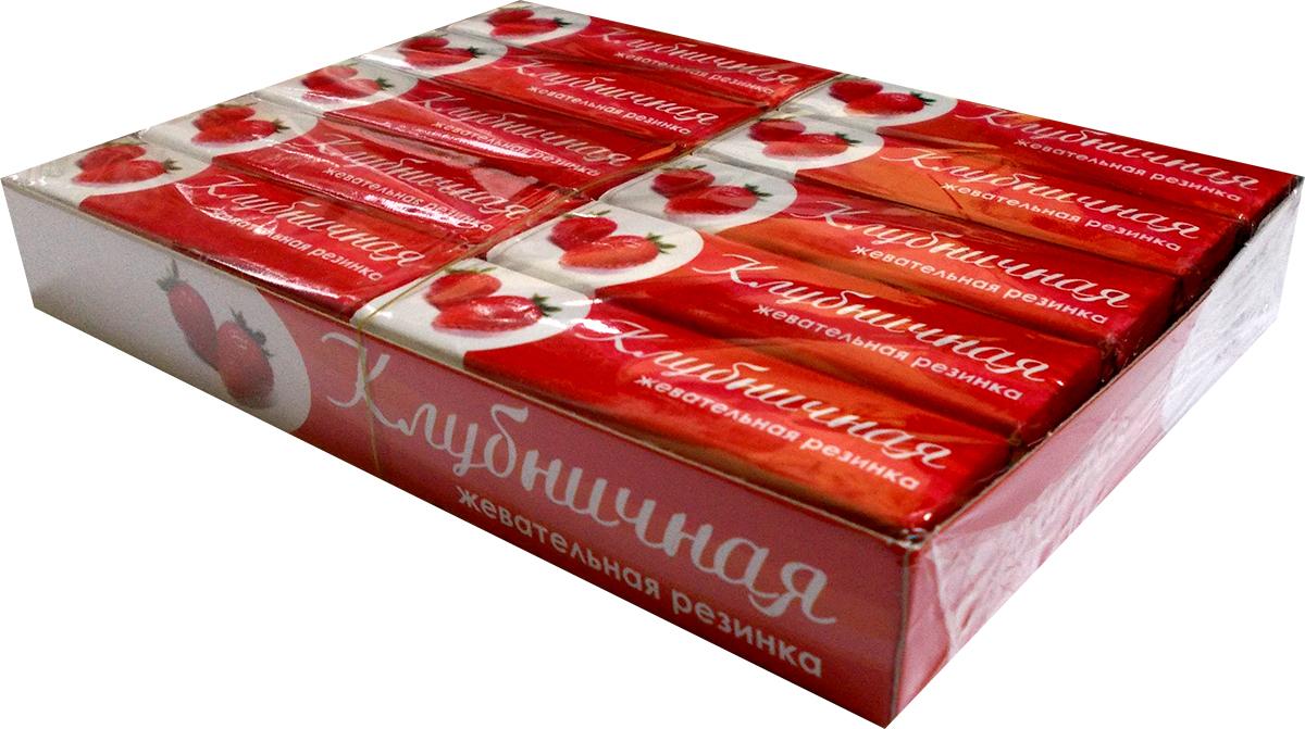 Plastinki жевательная резинка Клубничная, 20 пачек по 5 шт