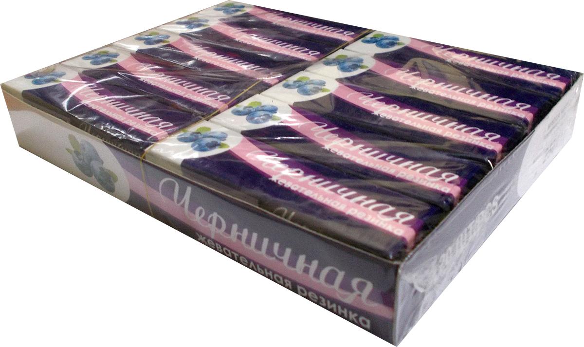 Plastinki жевательная резинка Черничная, 20 пачек по 5 шт