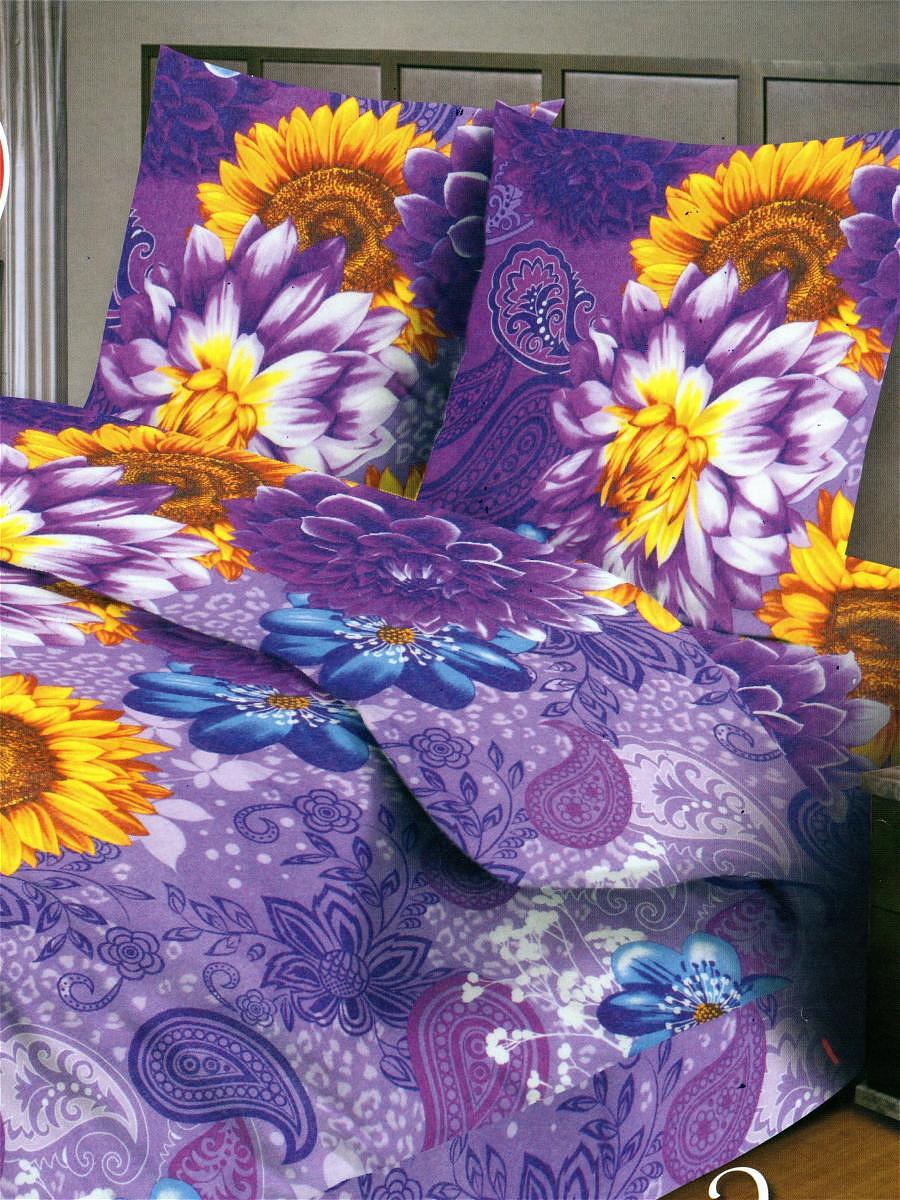 Комплект белья Letto, 1,5-спальный, наволочки 70х70. B142-3B142-3Комплект постельного белья Letto выполнен из классической российской бязи (хлопка). Комплект состоит из пододеяльника, простыни и двух наволочек. Постельное белье, оформленное ярким цветочным рисунком, имеет изысканный внешний вид. Пододеяльник снабжен молнией. Благодаря такому комплекту постельного белья вы сможете создать атмосферу роскоши и романтики в вашей спальне. Уважаемые клиенты! Обращаем ваше внимание на тот факт, что расцветка наволочек может отличаться от представленной на фото.