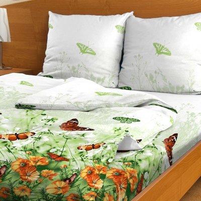 Комплект белья Letto, семейный, наволочки 70х70, цвет: зеленый. B95-7 комплект белья letto дуэт семейный наволочки 70х70 цвет голубой b33 7