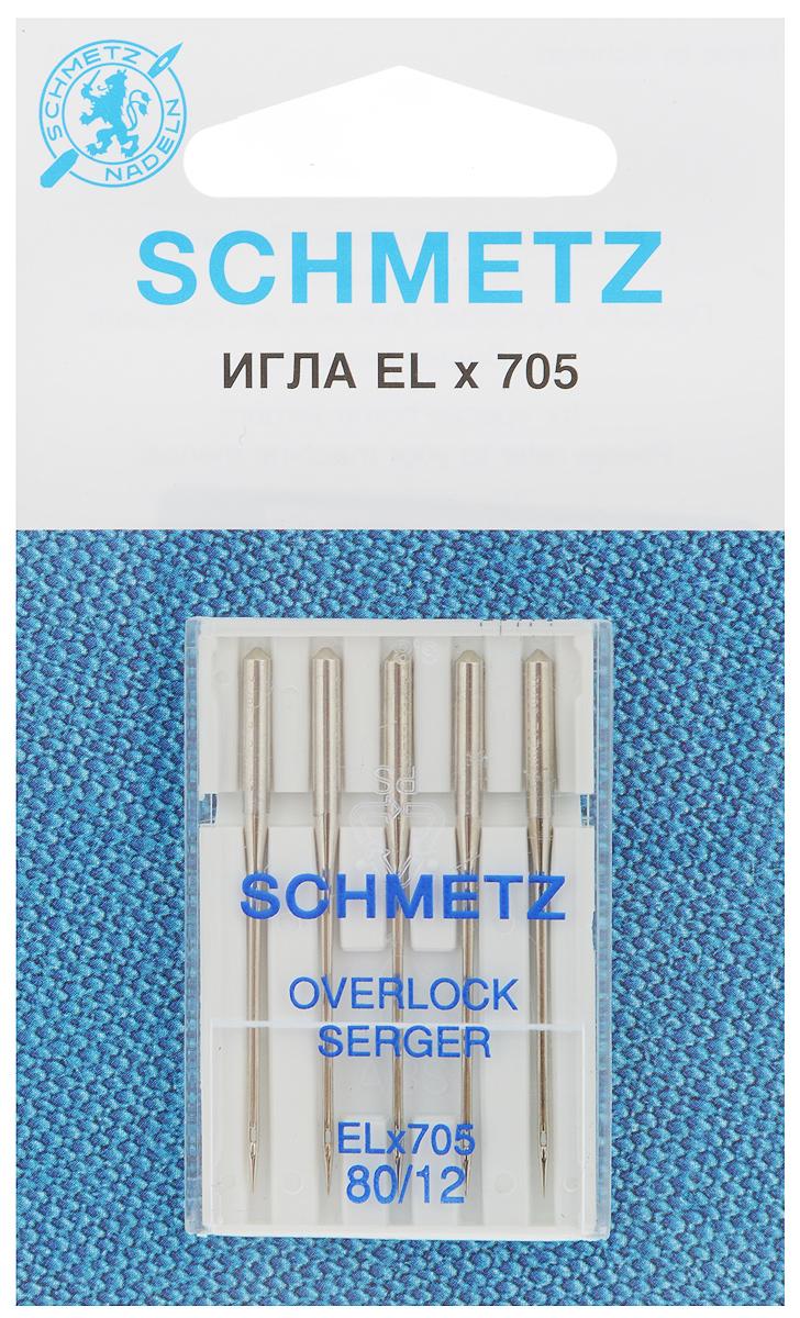 Набор игл для оверлок-машин Schmetz, №80, 5 шт22:40.2.VCSНабор Schmetz состоит из пяти игл для специальных бытовых оверлок-машин. Комплектация: 5 шт. Размер игл: №80. Стандарт: ELx705.