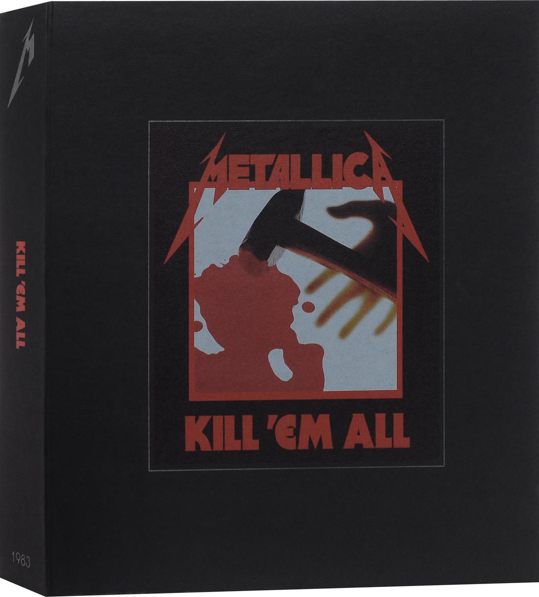 Metallica. Kill 'Em All (3 LP + 5 CD + DVD) metallica cd
